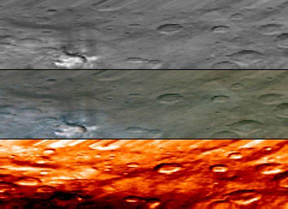 Vista del espectrómetro infrarrojo de la Mancha 1 ().