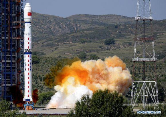 Lanzamiento del Yaogan 27 (Xinhua).