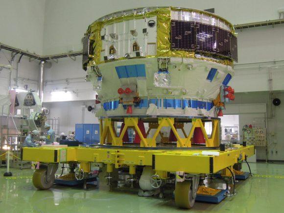 Módulos AM y PM del HTV5 (JAXA).