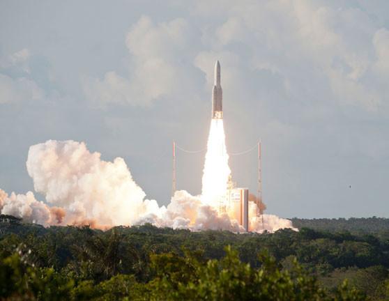 Lanzamiento de la misión VA225 (Arianespace).