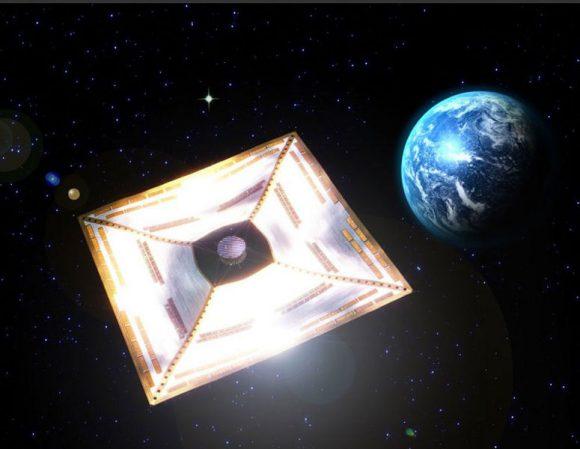 Vela solar japonesa IKAROS (JAXA).