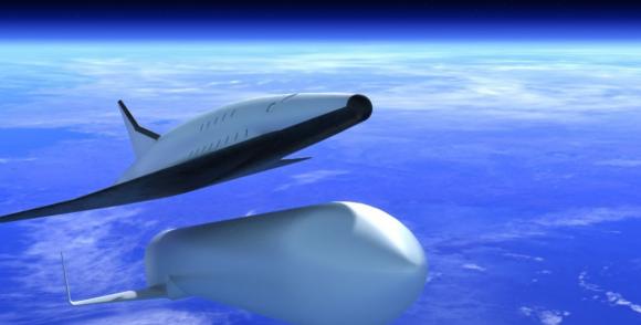 Uno de los diseños originales de SpaceLiner (DLR).