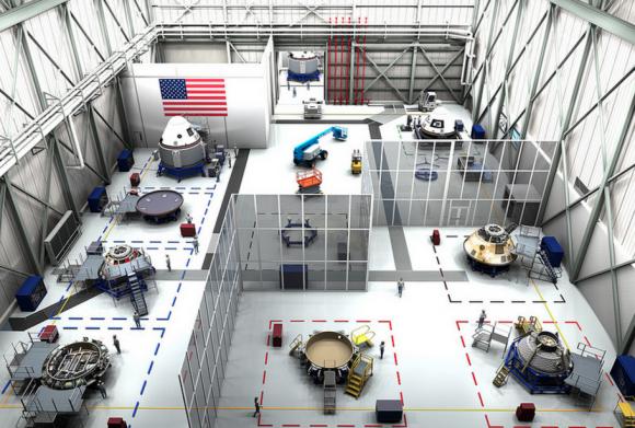 Interior del (NASA).