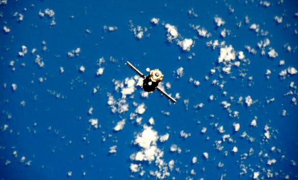 La Soyuz TMA-16M se separa de la ISS (NASA).