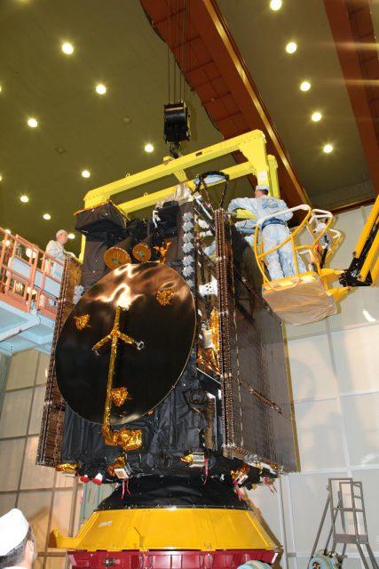 Satélite Ekspress-AM8 (ISS Reshetniov).