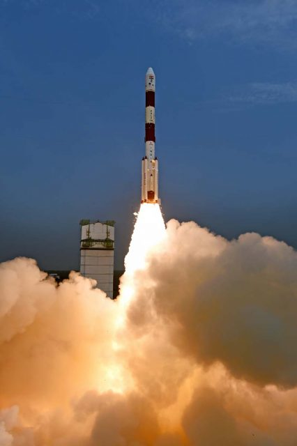 Lanzamiento del PSLV C30 (ISRO).