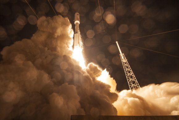 Lanzamiento del MUOS-4 (ULA).