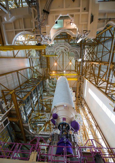 Etapa central EPC de la misión VA226 (Arianespace).