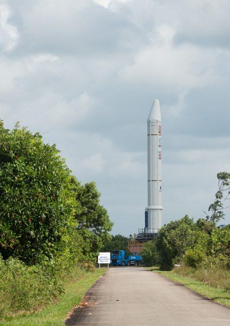 EAP de la misión VA226 (Arianespace).
