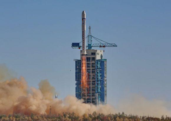 Lanzamiento del Tianhui 1-03 (www.9ifly.cn).