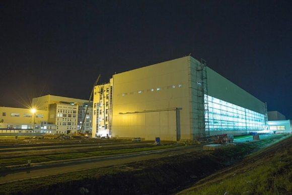 Exterior del edificio MIK RN de VOstochni (Spetsstroy).