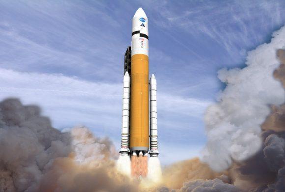 Cohete Ares V (NASA).