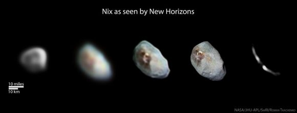 Nix (NASA/Johns Hopkins University Applied Physics Laboratory/Southwest Research Institute/Roman Tkachenko).