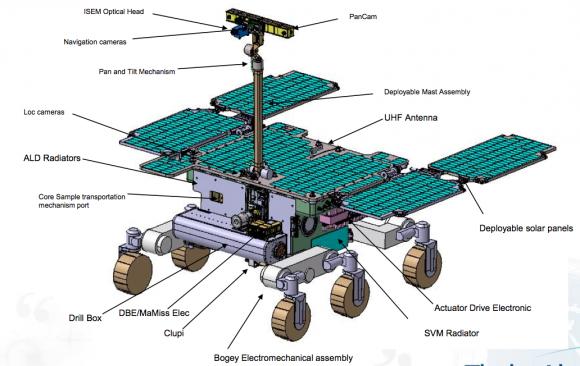 El rover ExoMars 2018 (ESA).