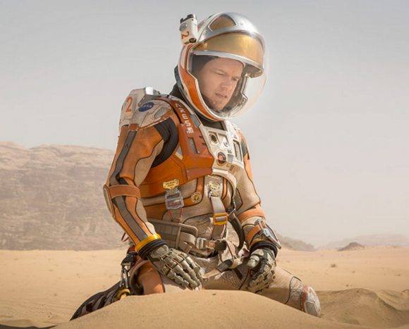 Traje de superficie de The Martian (20th Century Fox).