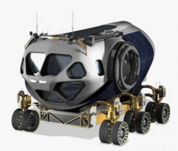 Rover SEV de la NASA para explorar Marte (NASA).