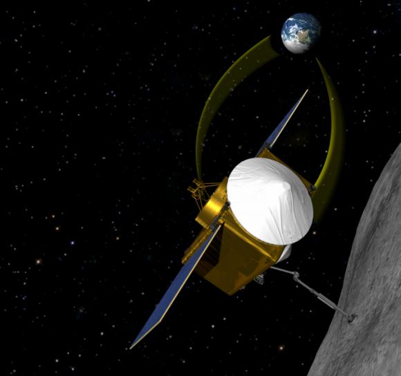 Sonda OSIRIS-REx (NASA).