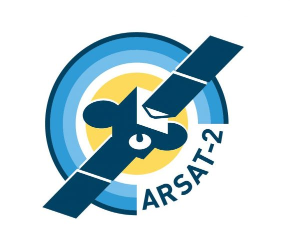 Emblema de la misión (ARSAT SA).