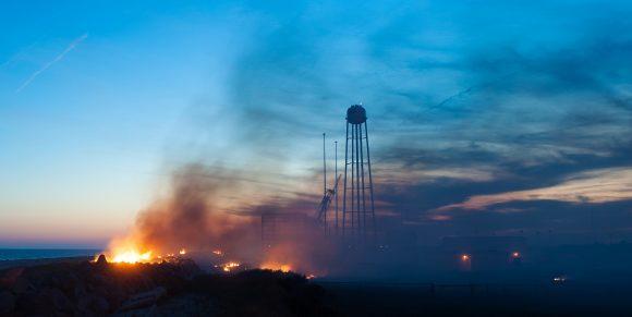 Tras la explosión (NASA).
