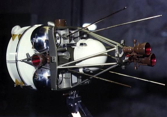 Satélite Polyot, prototipo del IS ().