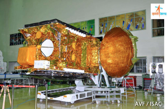 GSAT 15 (Airbus Defence and Space).