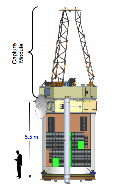 Otra vista de la sonda (NASA).
