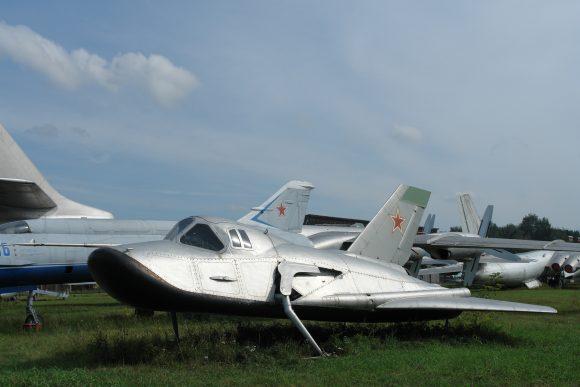 Prototipo MiG 105 (Wikipedia).