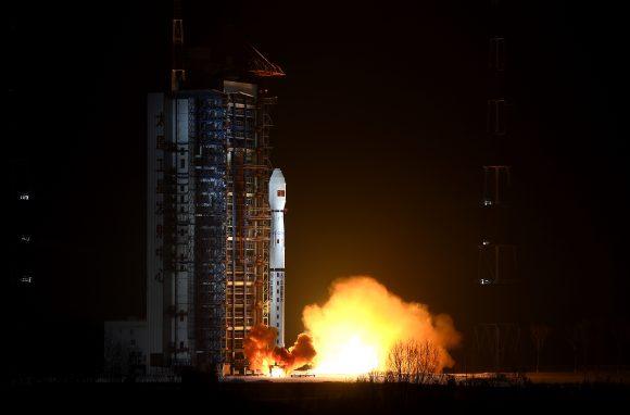 Lanzamiento del Yaogan 29 (Xinhua).