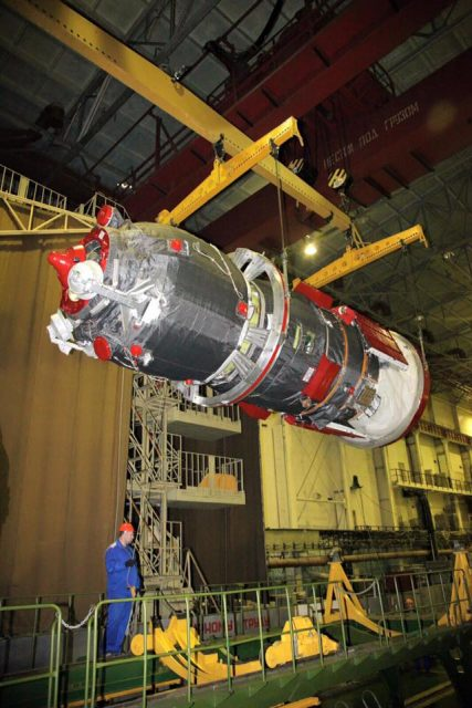 Nave Progress MS-01 (Roscosmos).