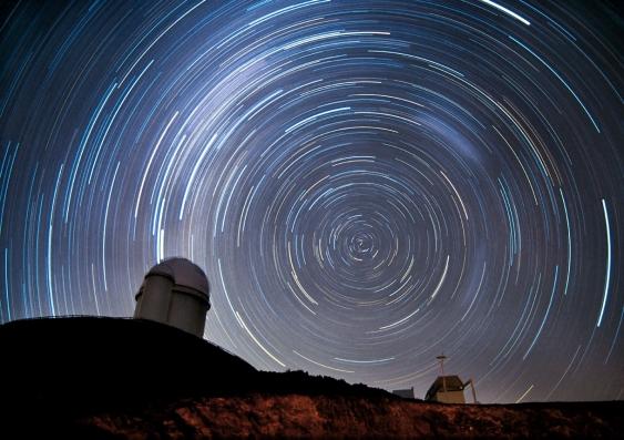 Vista del cielo desde el Observatorio de La Silla, Chile (UNSW).