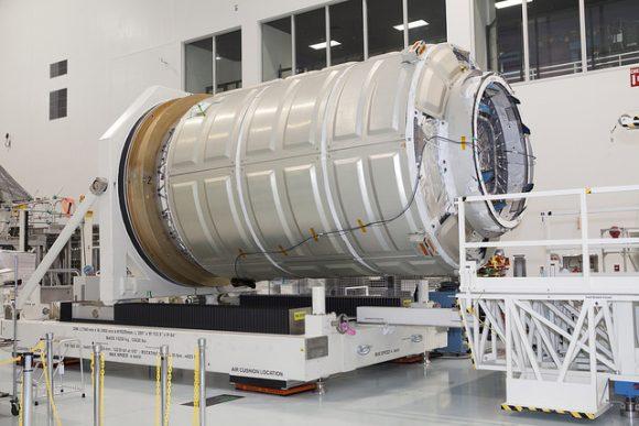 Módulo presurizado de la Cygnus OA-4 (NASA).
