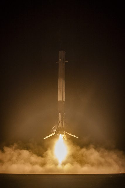 Aterrizaje de la etapa (SpaceX).