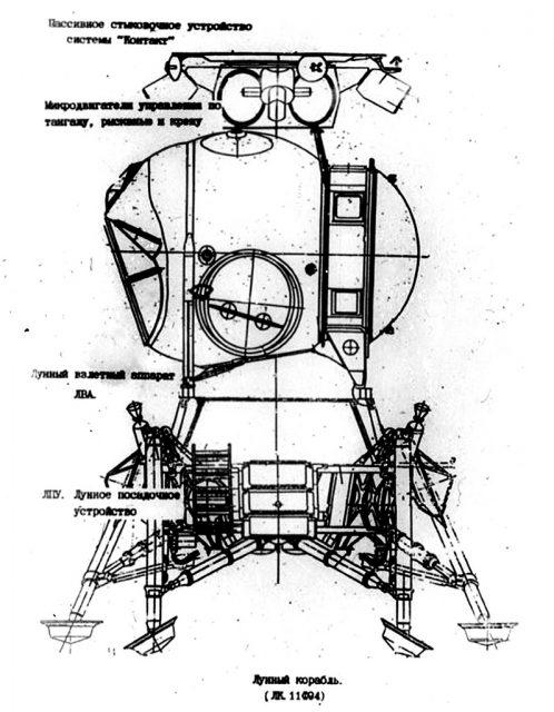 Módulo lunar LK.