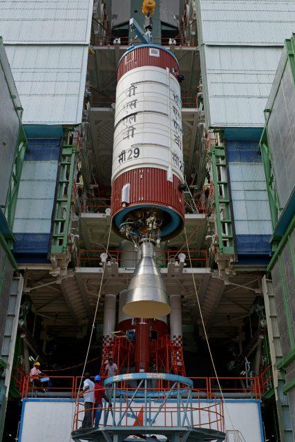 Segunda etapa del PSLV C29 (ISRO).
