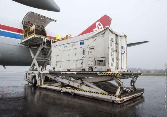 VS13 Arrivee Galileo FOC M4 a Felix Eboue le 30/10/2015