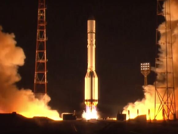 Lanzamiento del Garpún-2 (Roscosmos).