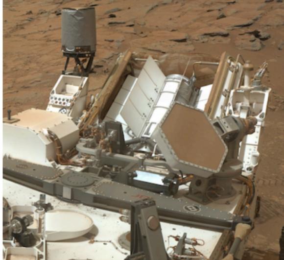 El MMRTG de Curiosity (NASA).