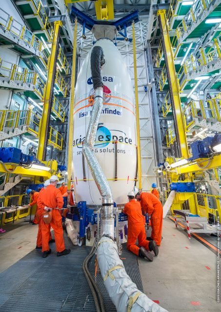 Pose PAC sur lanceur VV06 en ZLV le 19-11-2015