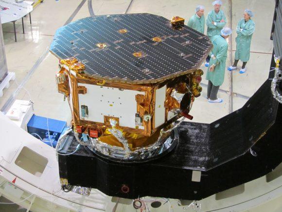 LISA Pathfinder en 2011 durante las pruebas de vacío (ESA).