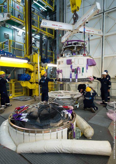 Pose AVUM sur lanceur VV06 en ZLV le 23-10-2015