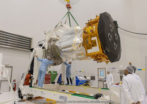 VV06 Pose Lisa Pathfinder sur Dolly S5C Sud, le 10/10/2015