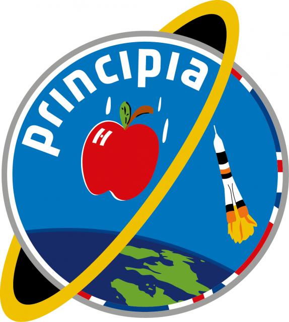 Emblema de la misión Principia (ESA).