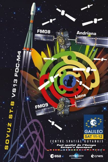Póster de la misión (Arianespace).