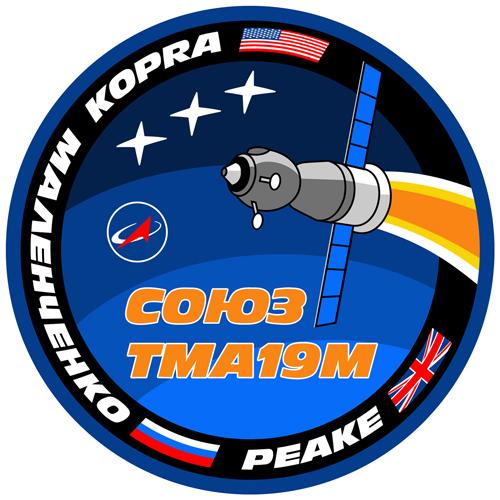 Emblema de la Soyuz TMA-19M (NASA).