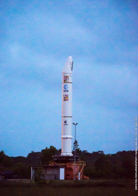 EAP de la misión VA228 (Arianespace).
