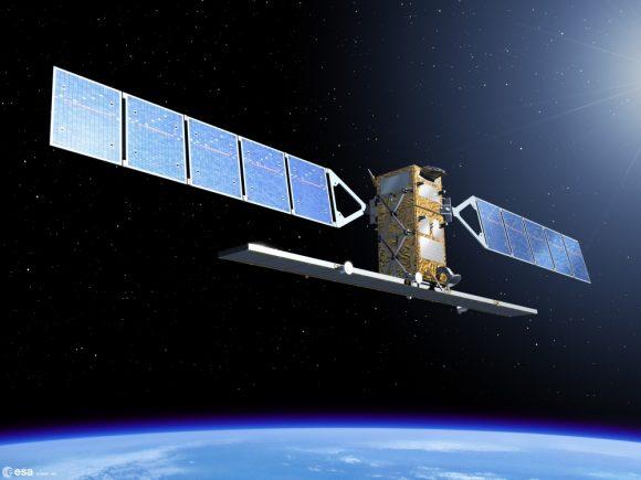 Satélite Sentinel 1B de la ESA (ESA).