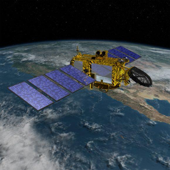 Satélite Jason 3 de la NASA para investigación de los océanos (NASA).