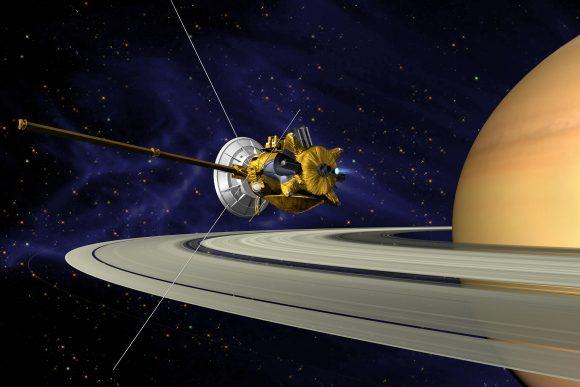 Sonda Cassini (NASA).