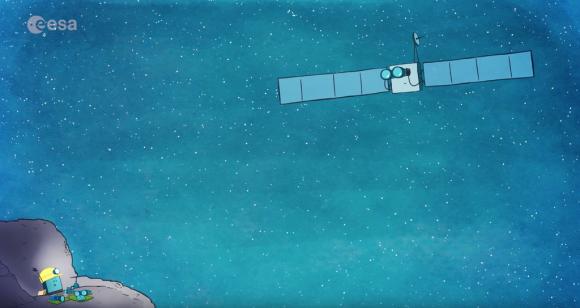 Rosetta buscará a Philae usando la cámara OSIRIS hasta el próximo septiembre (ESA).