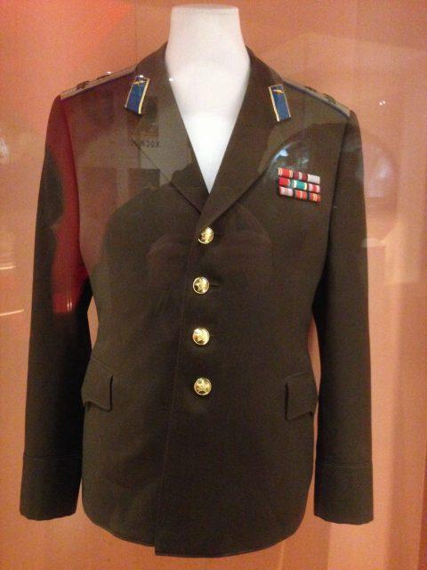 Uniforme de Gagarin (Eureka).